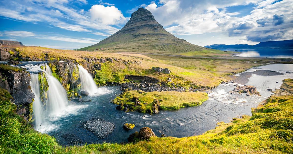 Väder, klimat och temperatur på Island och i Reykjavik